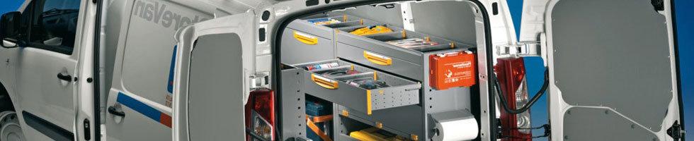 Amenagement de vehicule utilitaire agencement fourgon for Amenagement interieur de vehicule utilitaire