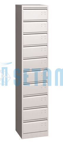 armoire 10 clapets classeur m tallique 10 clapets gris ral 7035. Black Bedroom Furniture Sets. Home Design Ideas