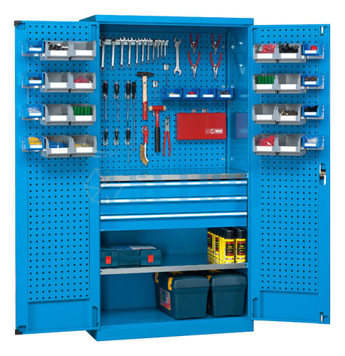 Armoire Rangement Outils Armoires Outillage Fond Perfore Mont Cenis 1