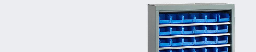 armoire a bacs metallique rangement bac sans porte. Black Bedroom Furniture Sets. Home Design Ideas