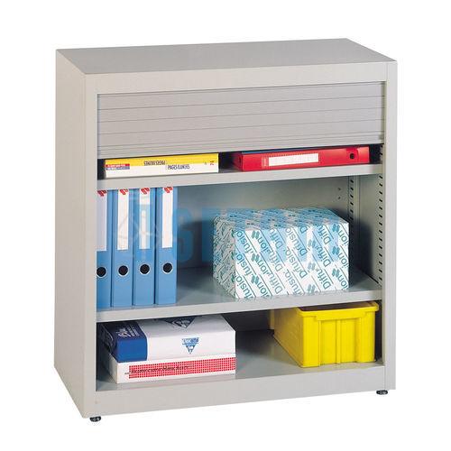 armoire de rangement bureau rideau large x x. Black Bedroom Furniture Sets. Home Design Ideas
