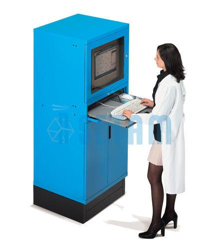 Armoire Informatique Industrielle Cs 145 Bleu Ral 5012