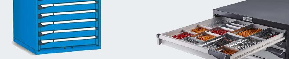 armoire a tiroir atelier armoires avec tiroirs m talliques. Black Bedroom Furniture Sets. Home Design Ideas