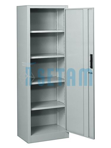 Armoire metallique armoire 1 porte battante cevennes 5 for Armoire metallique 2 portes