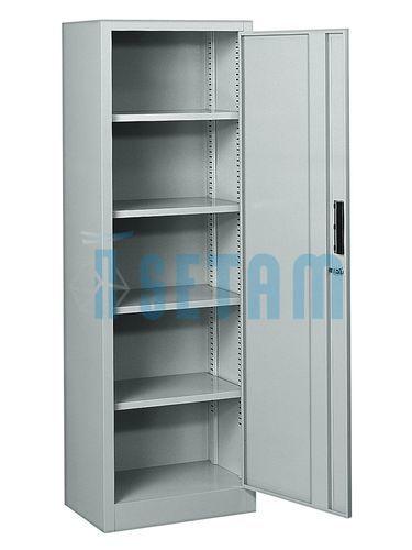 armoire metallique armoire 1 porte battante cevennes 5 niveaux. Black Bedroom Furniture Sets. Home Design Ideas