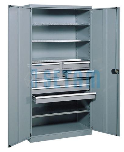 armoire atelier avec tiroirs et portes battantes mont cenis 9. Black Bedroom Furniture Sets. Home Design Ideas