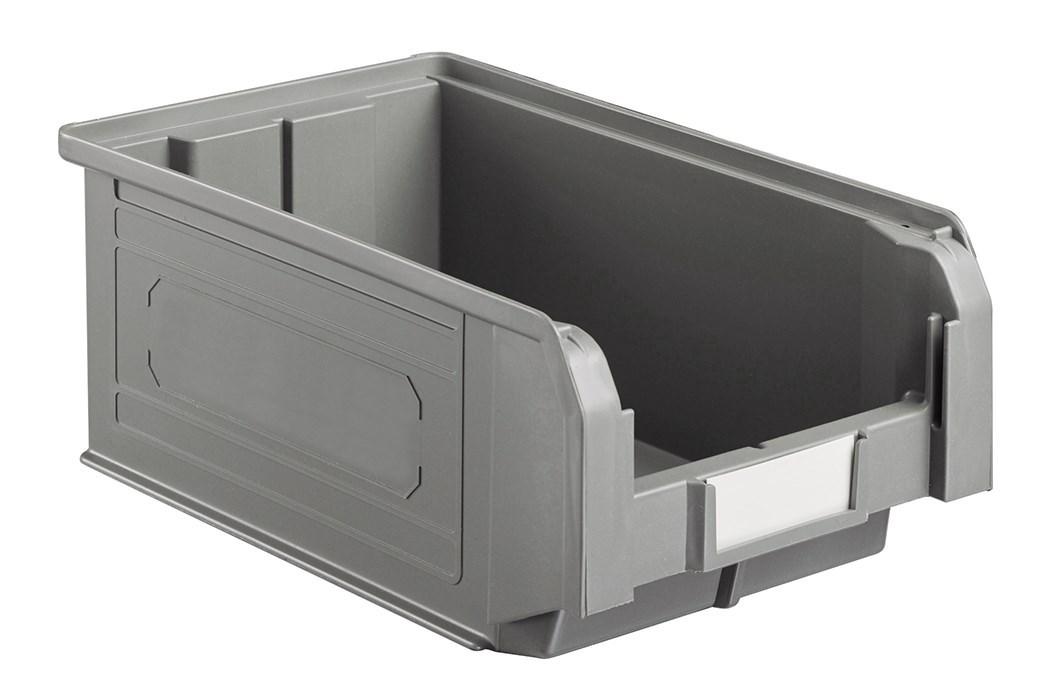Bac à bec économique en plastique 9.4 litres gris