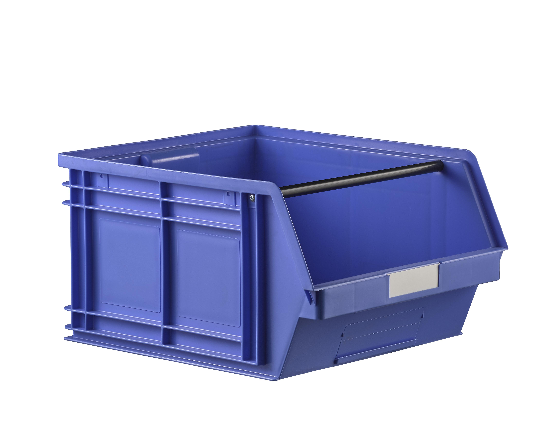 Bac à bec en plastique 63 dm3 coloris bleu