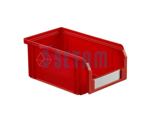 bac bec plastique 1 litre rouge setam. Black Bedroom Furniture Sets. Home Design Ideas
