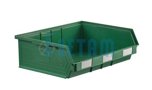 bac bec plastique 19 litres vert setam. Black Bedroom Furniture Sets. Home Design Ideas