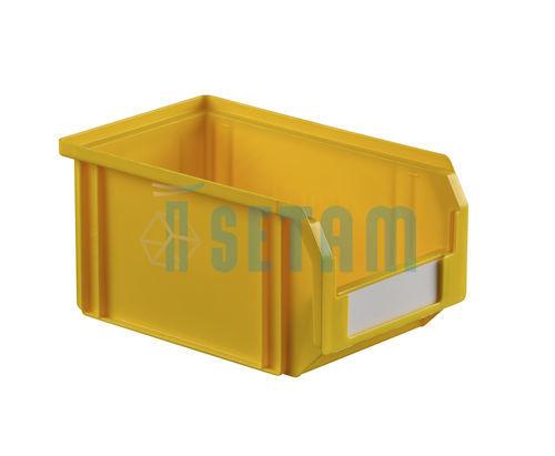 bac bec plastique 3 8 litres jaune setam. Black Bedroom Furniture Sets. Home Design Ideas