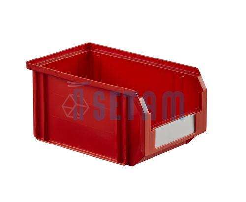 bac bec plastique 3 8 litres rouge setam. Black Bedroom Furniture Sets. Home Design Ideas