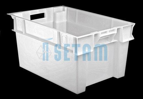 bac alimentaire minerva plastique 50 litres bas setam. Black Bedroom Furniture Sets. Home Design Ideas