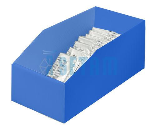 bac plastique 13 litres akylux bleu setam. Black Bedroom Furniture Sets. Home Design Ideas