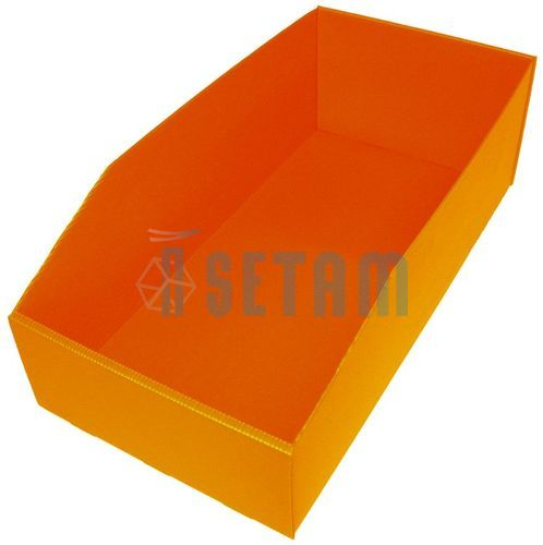 bac plastique 18 litres akylux orange setam. Black Bedroom Furniture Sets. Home Design Ideas