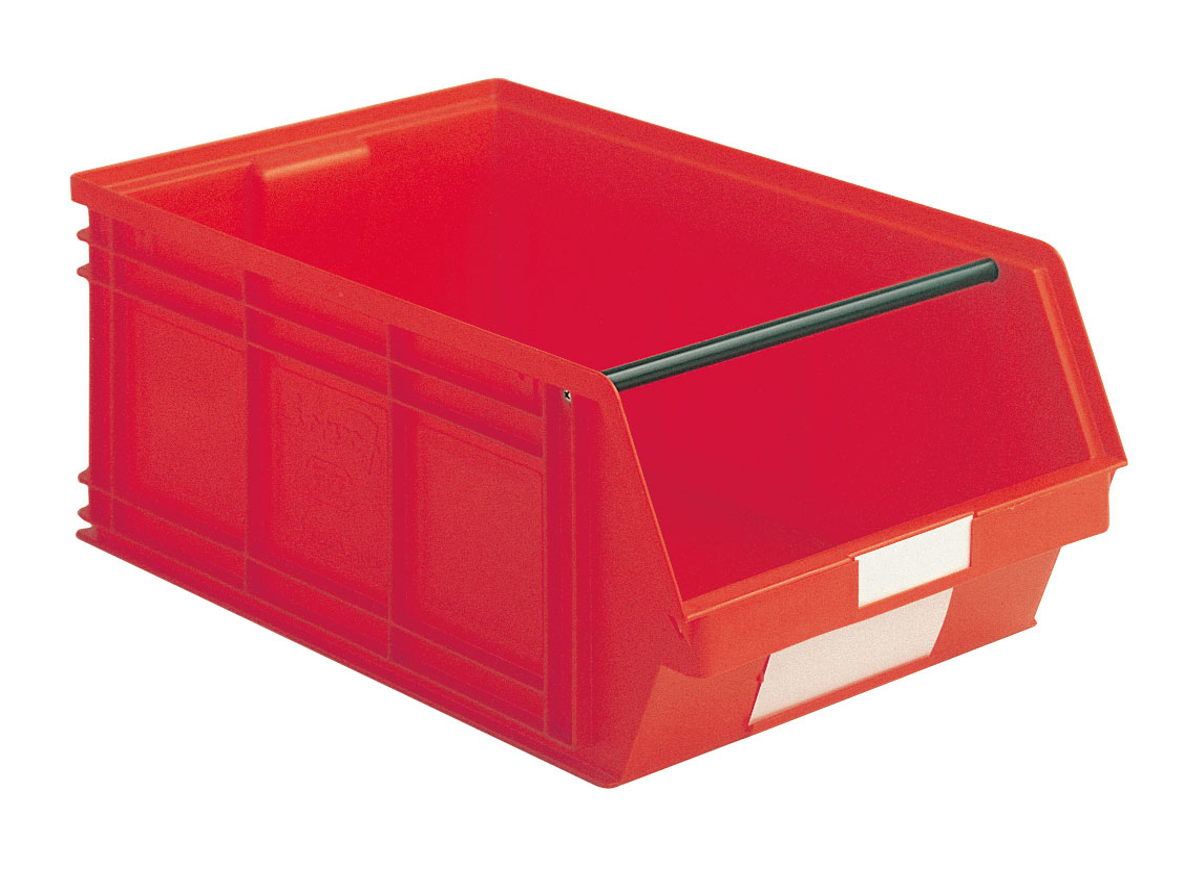 Bac plastique à bec 88 litres rouge