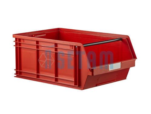 Bac bec grand volume 88 litres plastique rouge - Bac a bec plastique pas cher ...