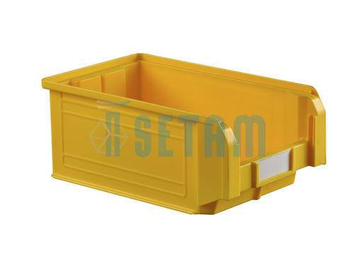 bac plastique jaune boite bec 9 4 litres. Black Bedroom Furniture Sets. Home Design Ideas