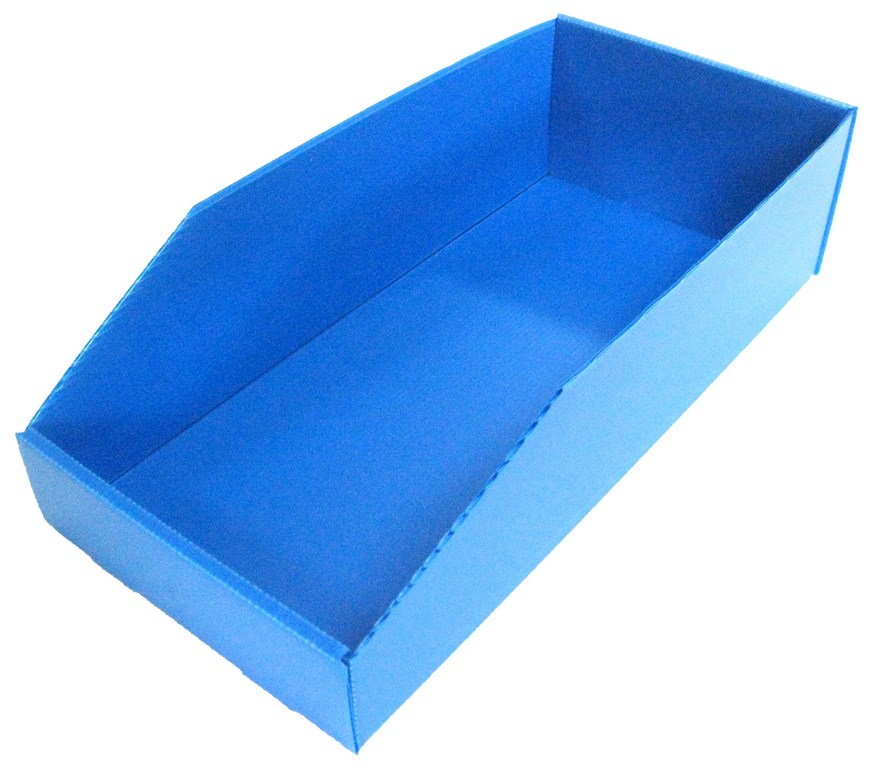 Bac pliable polypro 7 litres bleu