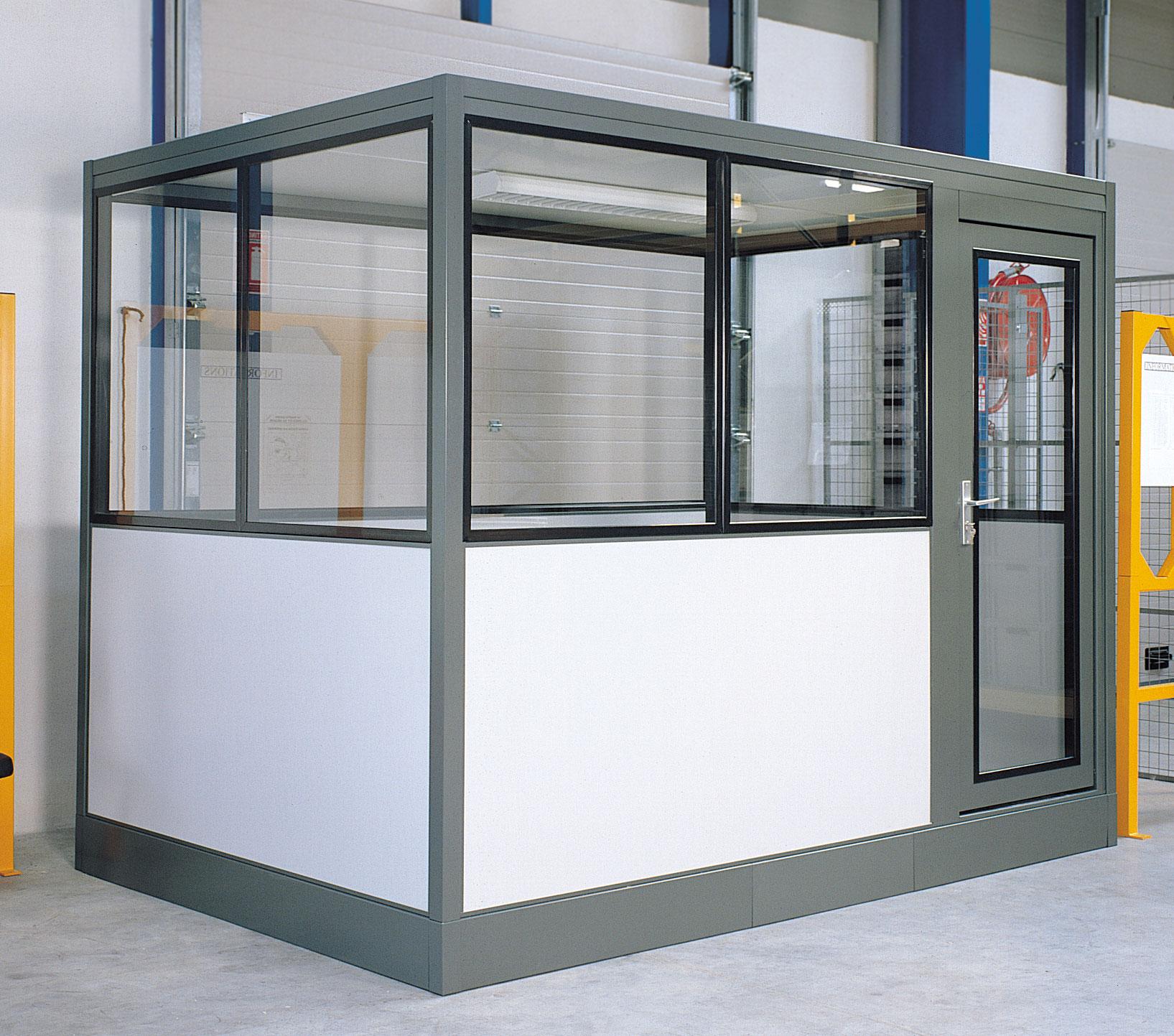 Cabine bureau industriel 6x3 mètres