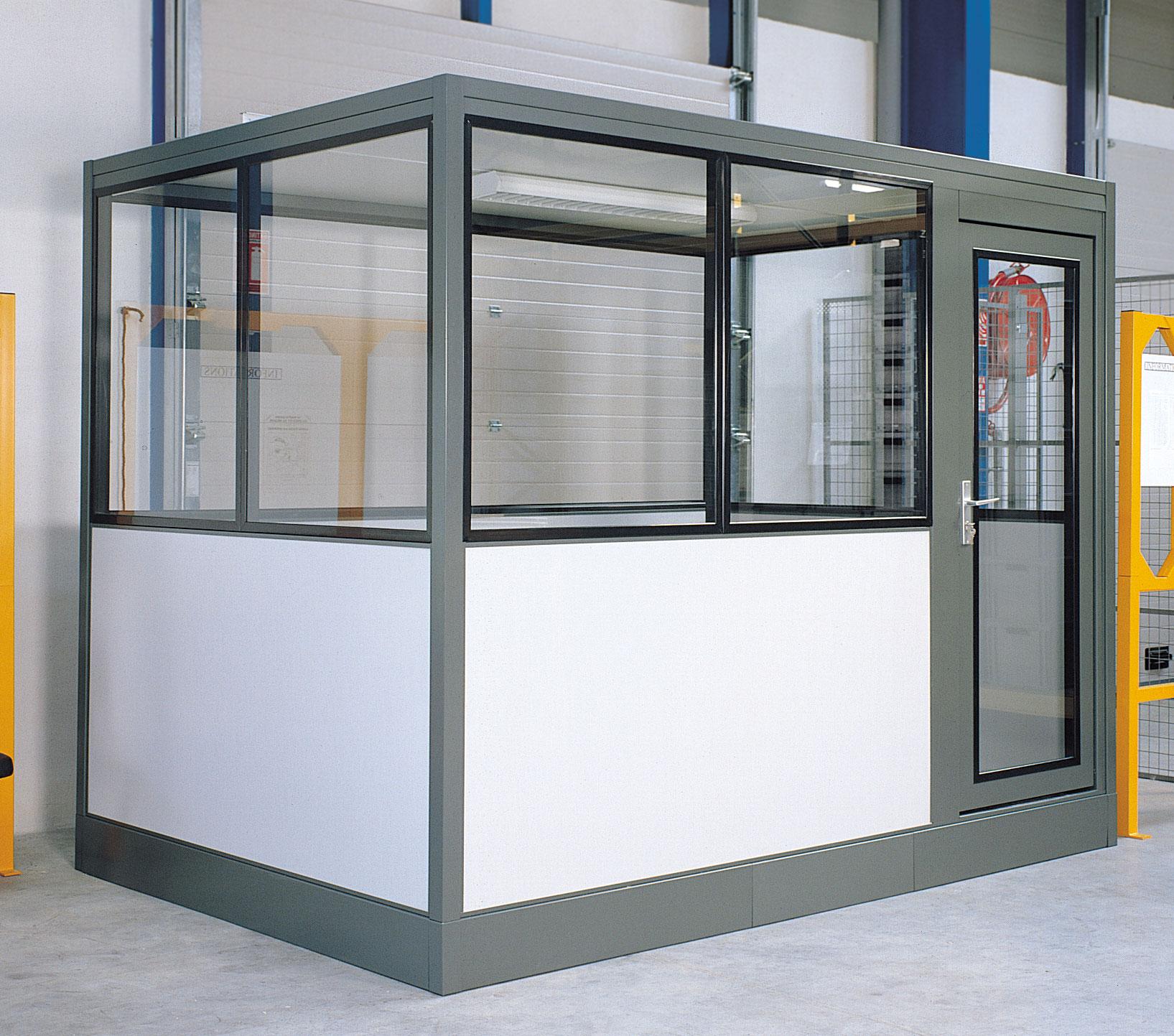 Cabine industrielle 4x3 mètres