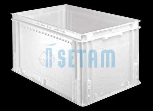 Caisse Alimentaire Plastique Athena 60 Litres 600x400