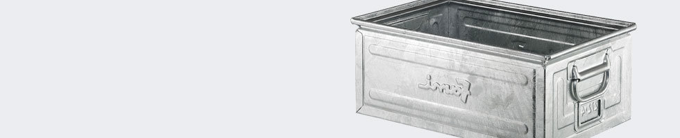 caisse metallique zinguee bac m tal galvanis. Black Bedroom Furniture Sets. Home Design Ideas