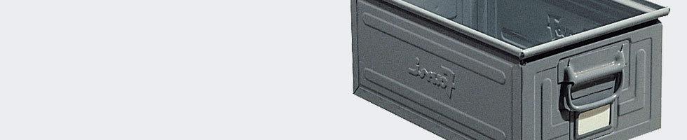 caisse metallique caisses metal de rangement. Black Bedroom Furniture Sets. Home Design Ideas