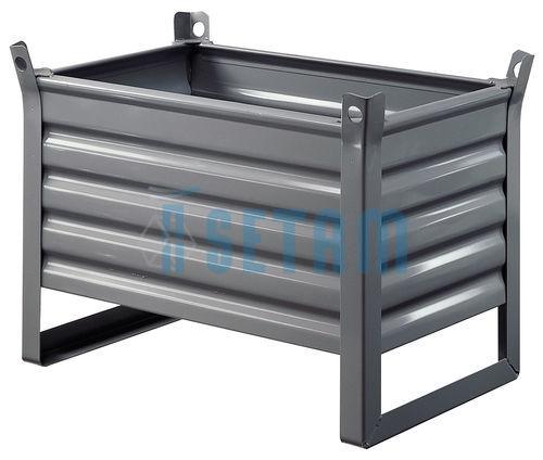 caisse palette alpha container metal t l e charge 600 kg. Black Bedroom Furniture Sets. Home Design Ideas