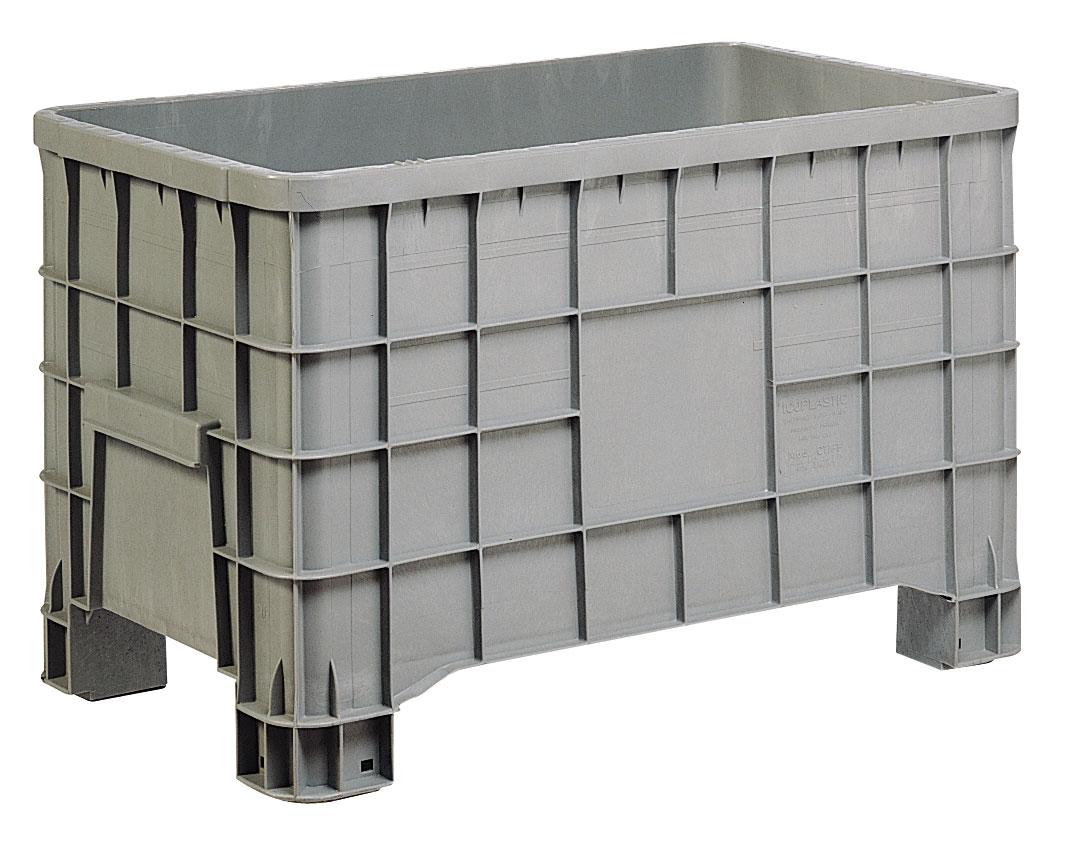 Caisse palette palox plastique 280 litres alimentaire