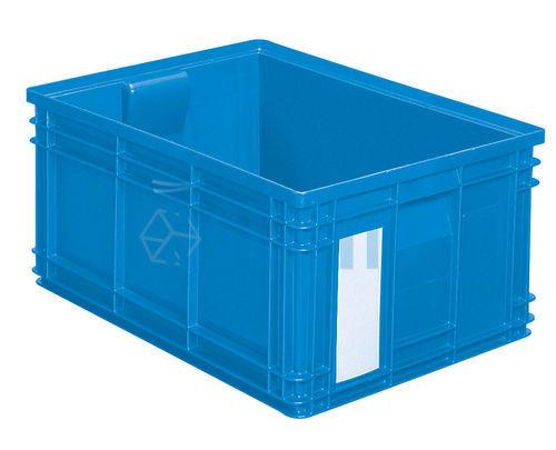 caisse plastique 85 litres bleu - Grand Bac Plastique