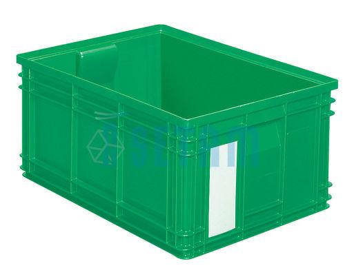 caisse plastique 85 litres vert setam. Black Bedroom Furniture Sets. Home Design Ideas