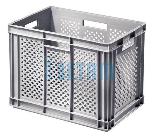 Bac ajour plastique ath na gris grand volume 90 litres - Bac plastique brico depot ...