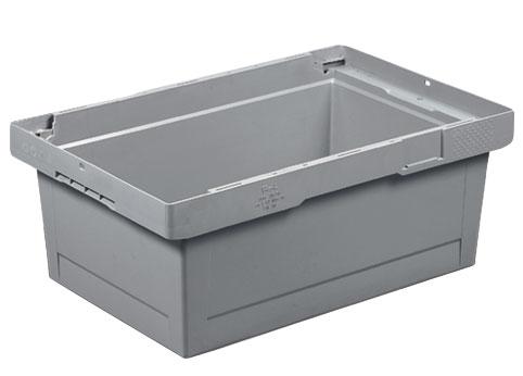 Caisse plastique empilable 38 litres 600x400