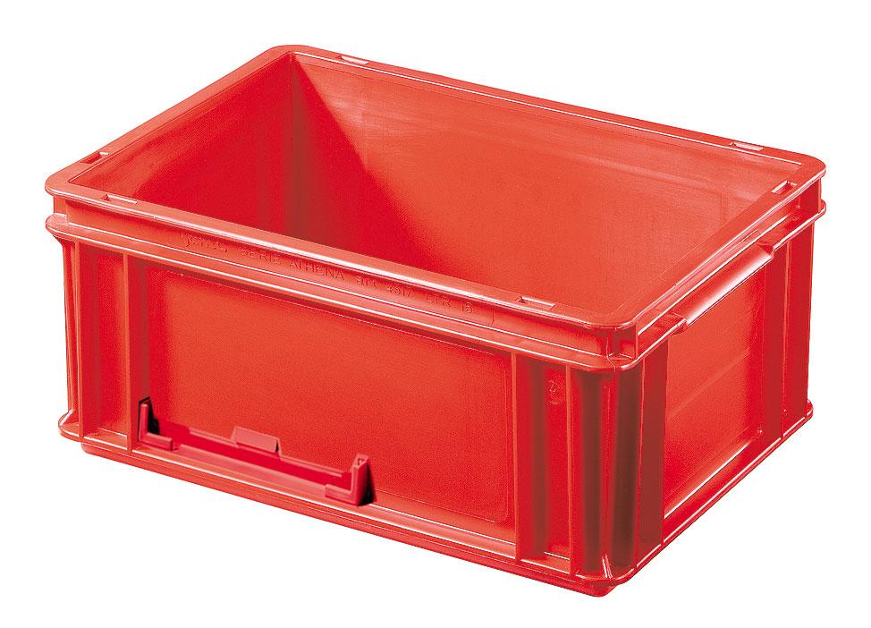 Caisse plastique rouge 15 litres