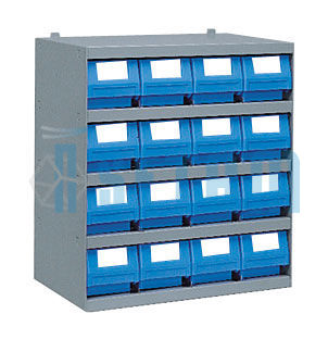 Casier Tiroirs 16 Bacs Plastique Multibox