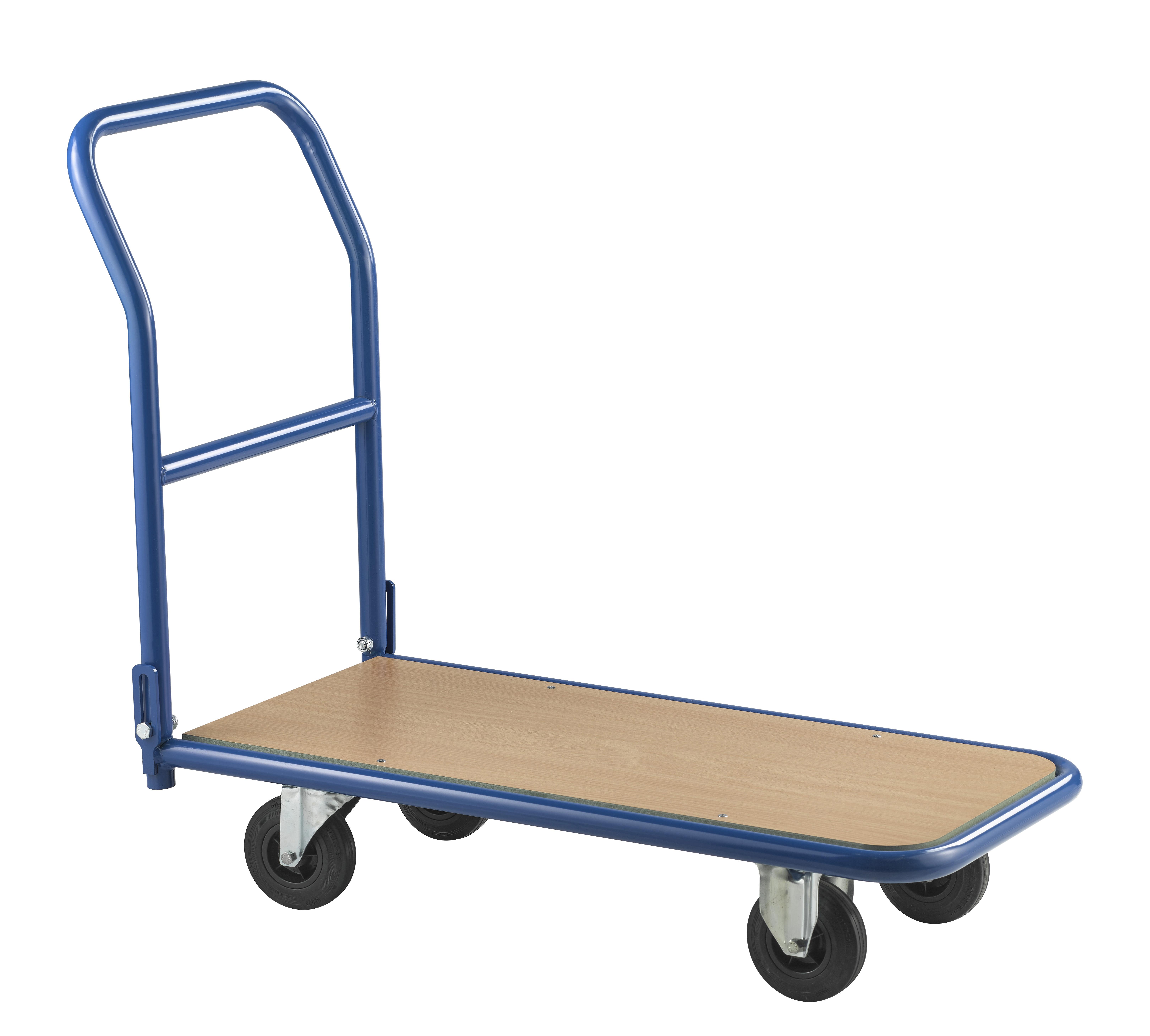 Chariot pliable à roulettes charge 250 kg