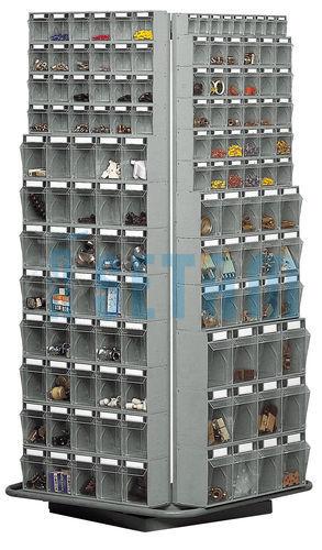 Classeur rotatif complet pour bloc tiroir plastique praticbox de 263 tiroirs setam - Bloc tiroir plastique ...