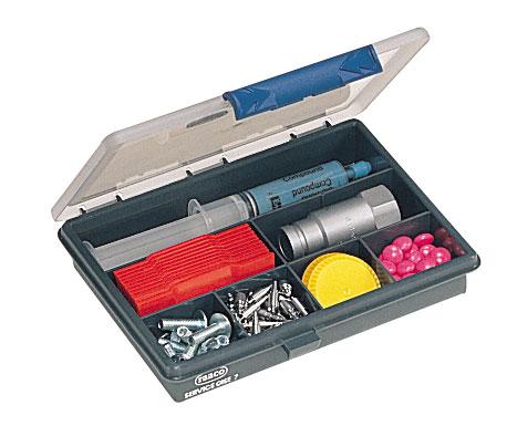 Coffret plastique porte outils Dany 7 cases
