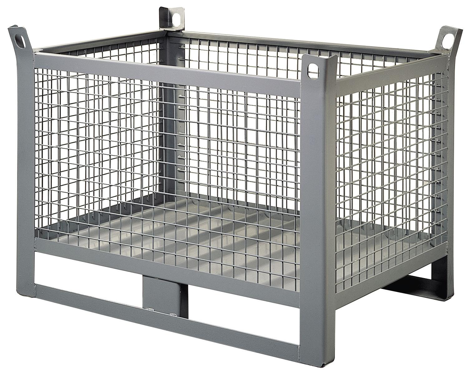Container palette métallique grillagée Longueur 1000