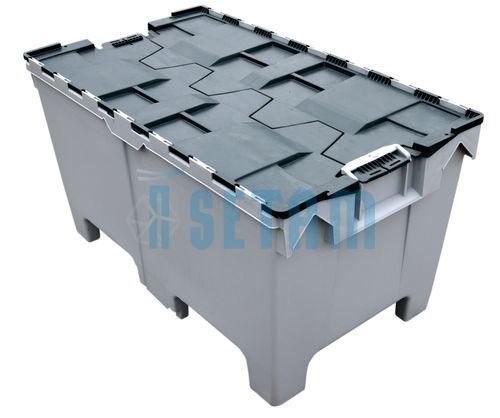 Container Plastique 200 Litres Avec Couvercle Intégré