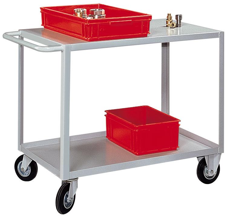 Desserte mobile 2 plateaux charge 350 kg
