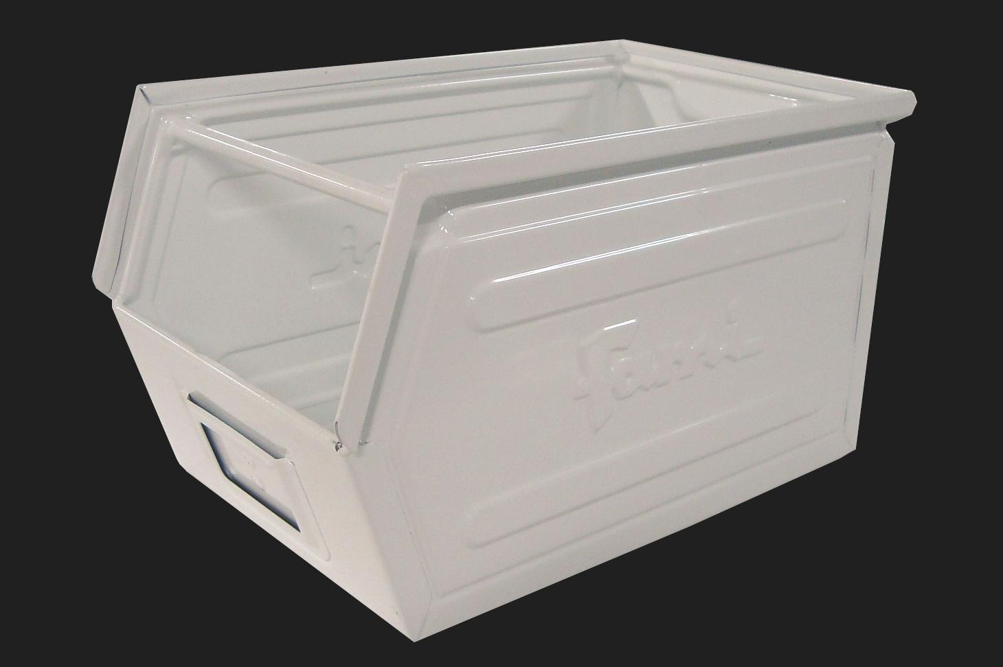 bac metallique bacs rangement gerbable en m tal. Black Bedroom Furniture Sets. Home Design Ideas