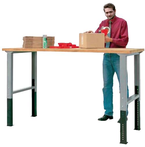 Etabli hauteur reglable table travail ergonomique - Table de travail reglable en hauteur ...