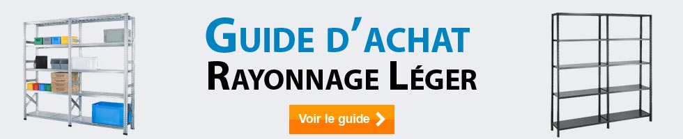 Guide de choix rayonnage