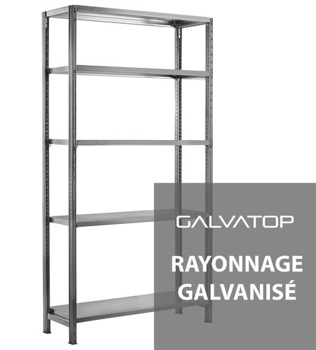 Rayonnage Galvatop / Rayonnage Universel - Configurateur