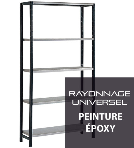 Rayonnage Universel / Rayonnage Galvatop - Configurateur