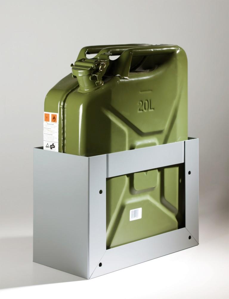 Jerrican 20 litres avec support