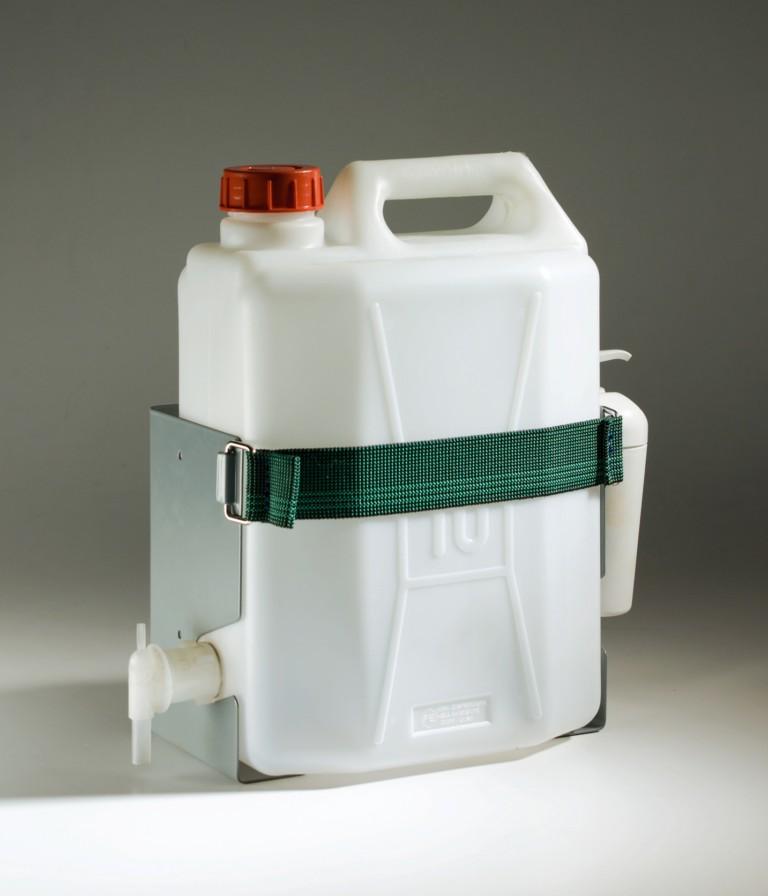 Kit lave-mains véhicule utilitaire avec bidon et savon