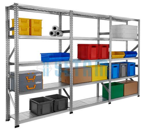 Rayonnage kit galvastar 3 metres rayonnage galvanise - Rayonnage garage ...